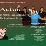 Teatro Inmigrante — Actos — 2008